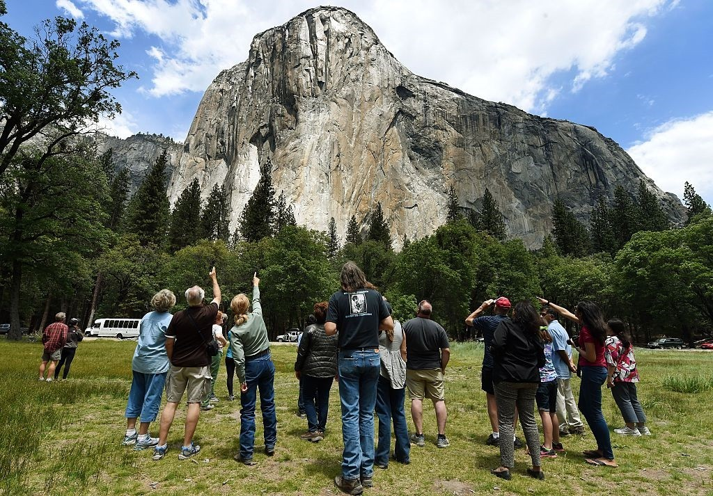 Victims in El Capitan rockfall at Yosemite were British tourists