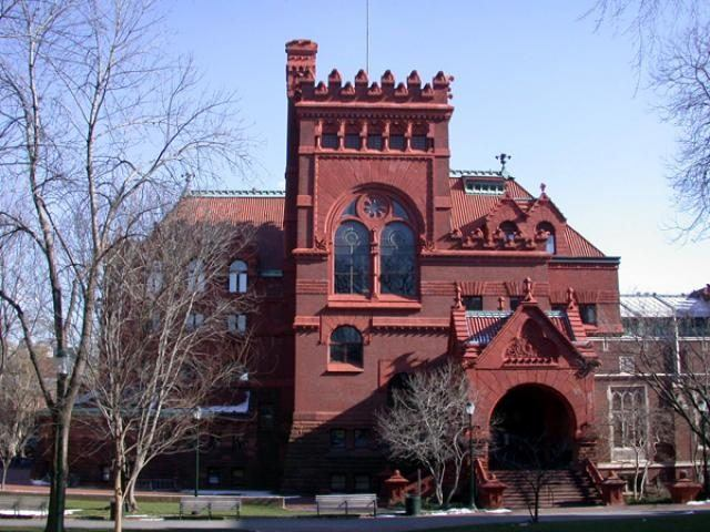 Fisher Fine Arts Library at the University of Pennsylvania