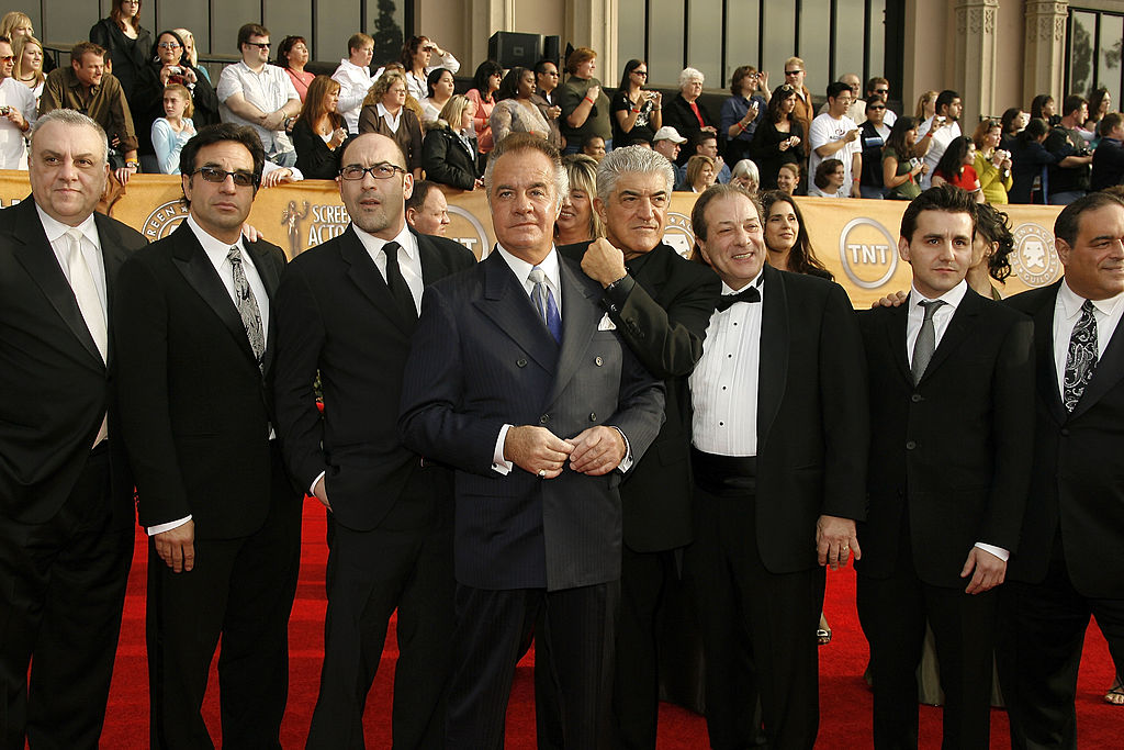Actors Curatola, Sirico, Vincent, Grimaldi, and Gannascoli
