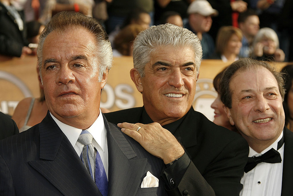 Actors Tony Sirico, Frank Vincent and Dan Grimaldi