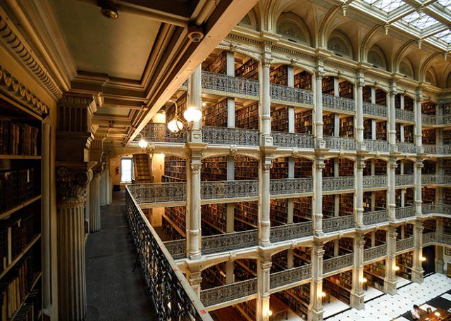 George Peabody Library at Johns Hopkins University