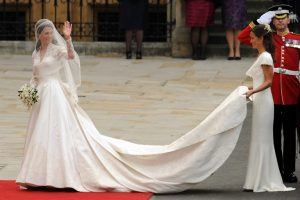 Here's Kate Middleton's Second Wedding Dress You Never Got to See, Until Now