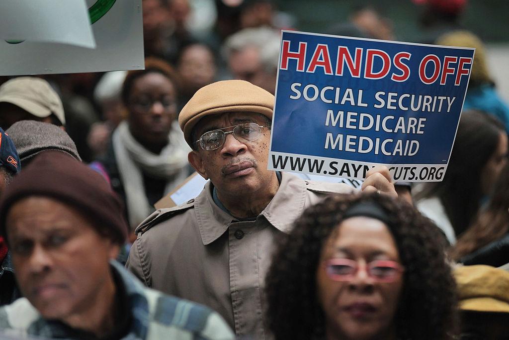 Social Security rally
