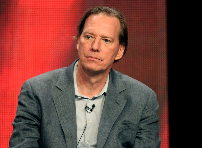 """Executive producer Scott Buck speaks at the """"Dexter"""" discussion panel during the Showtime portion of the 2012 Summer Television Critics Association tour"""