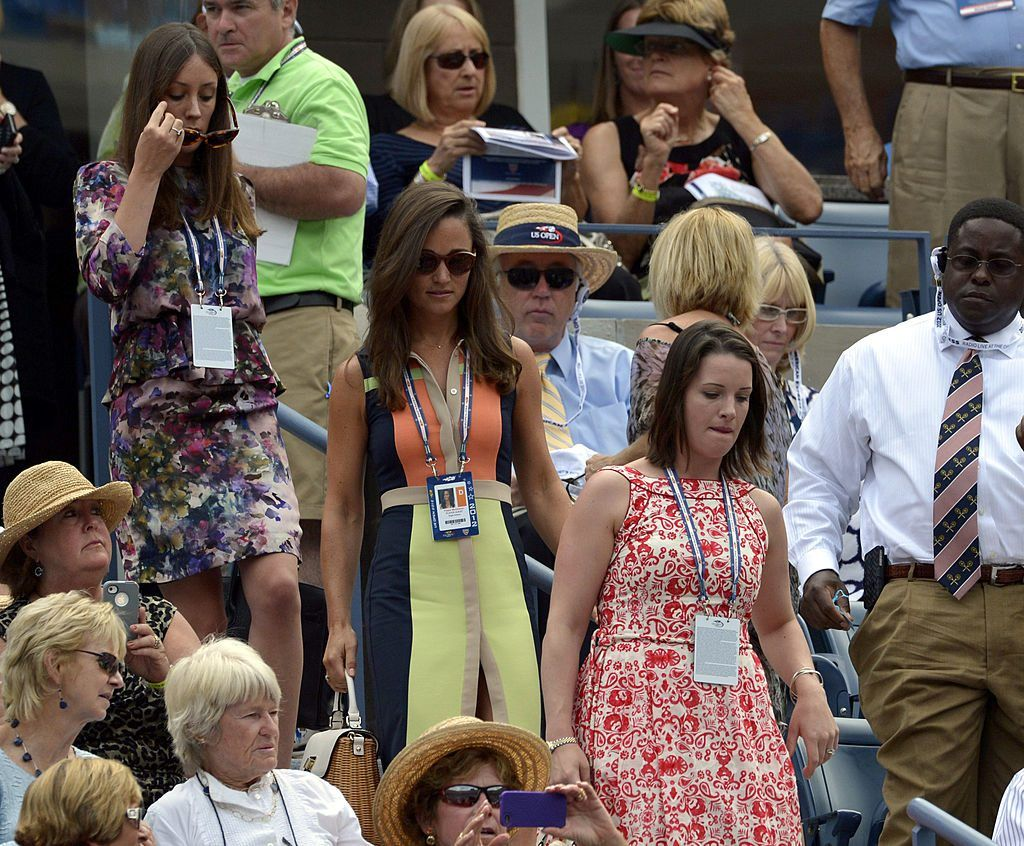 Pippa Middleton at a 2012 US Open women's singles match at the USTA Billie Jean King National Tennis Center in New York on September 4, 2012