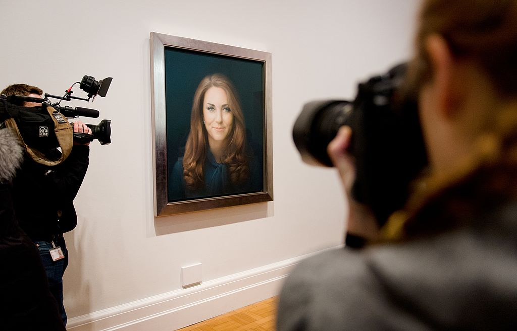 British artist Paul Emsley's portrait of Catherine, Duchess of Cambridge