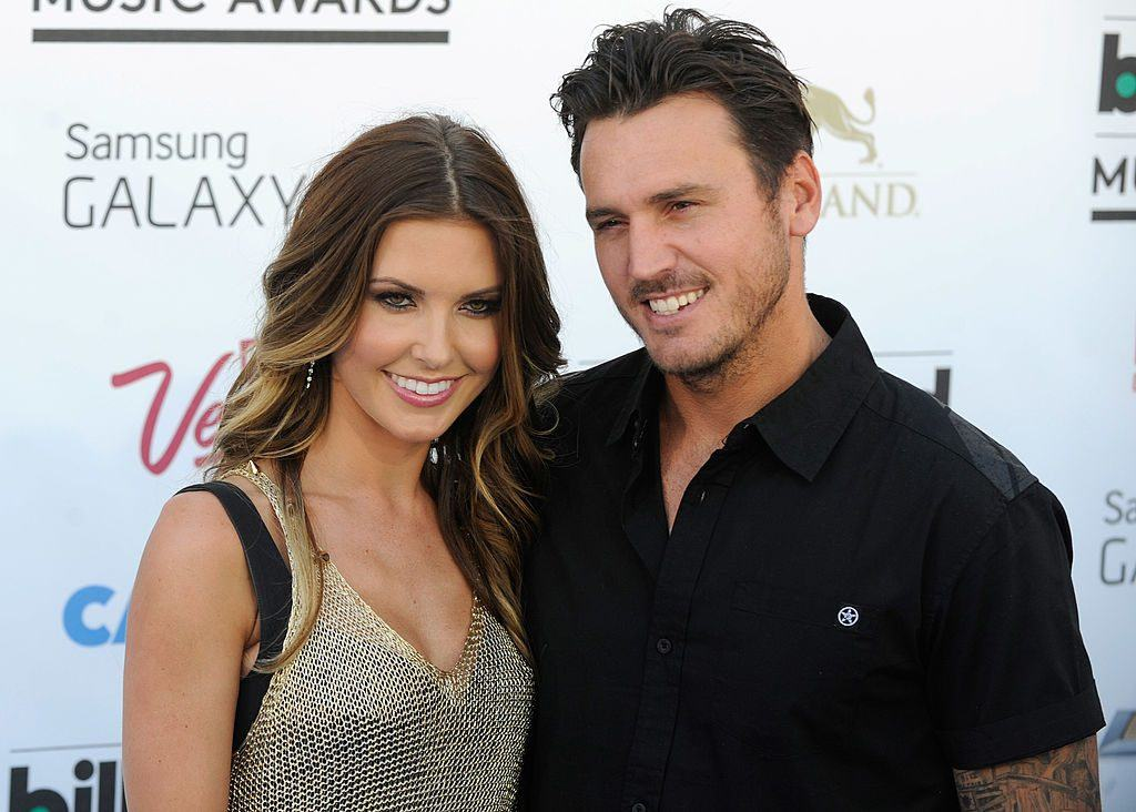 Audrina Patridge and Corey Bohan arrive at the 2013 Billboard Music Awards at the MGM Grand Garden Arena on May 19, 2013 in Las Vegas, Nevada.