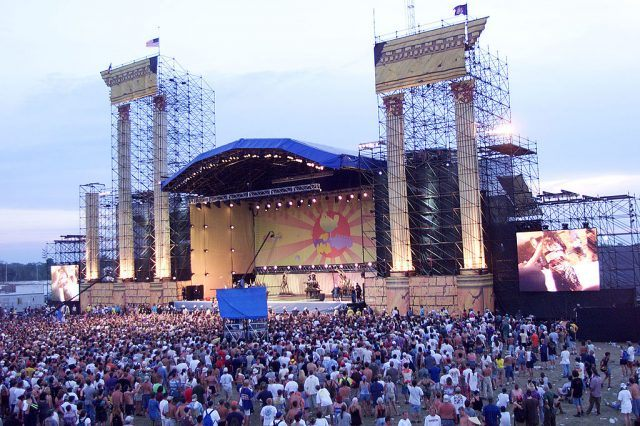 Stage at Woodstock 1999