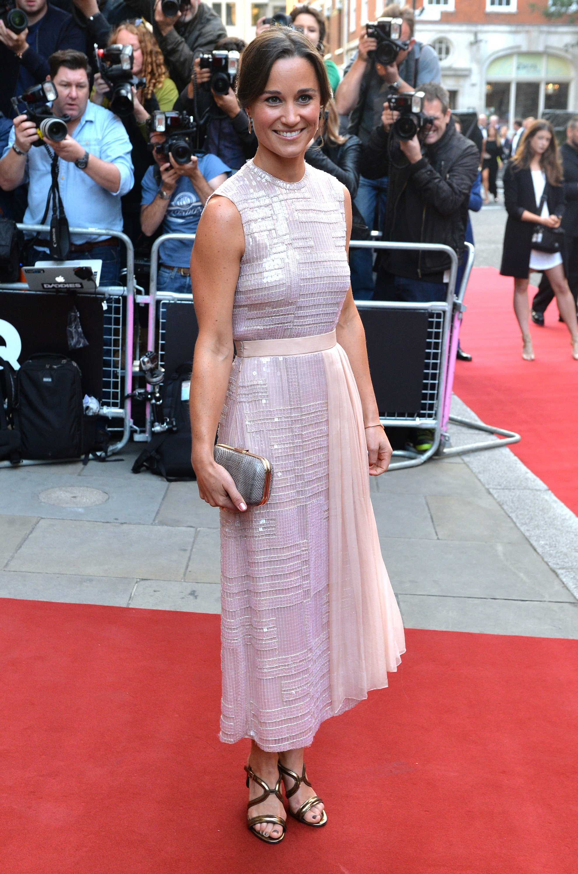 Pippa Middleton attends the GQ Men of the Year awards at The Royal Opera House on September 2, 2014 in London, England.