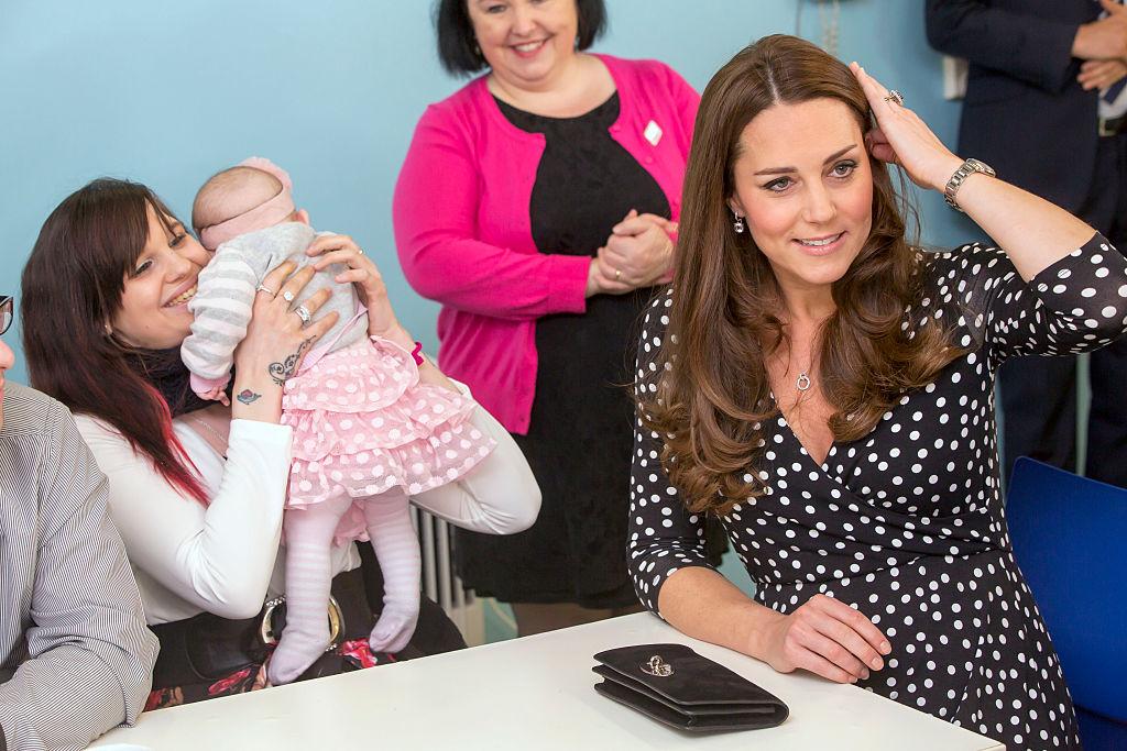 Kate Middleton at children's center