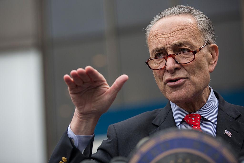 Senators Schumer And Blumenthal Discuss Rail Safety Plan