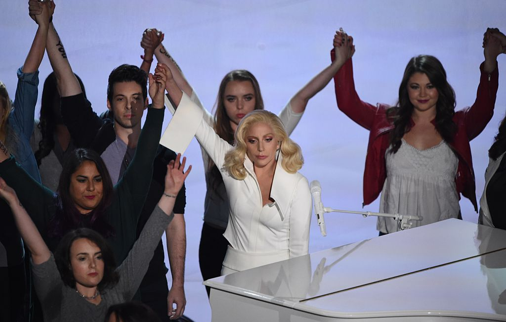 Lady Gaga at Oscars