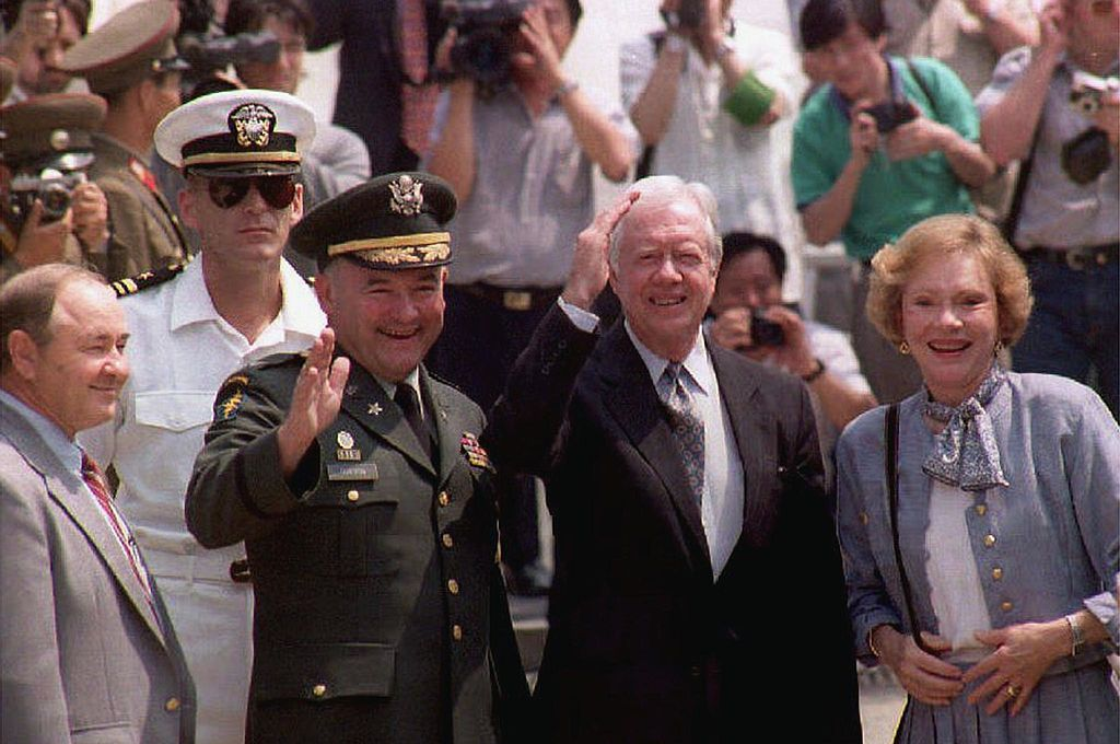 Jimmy Carter in North Korea