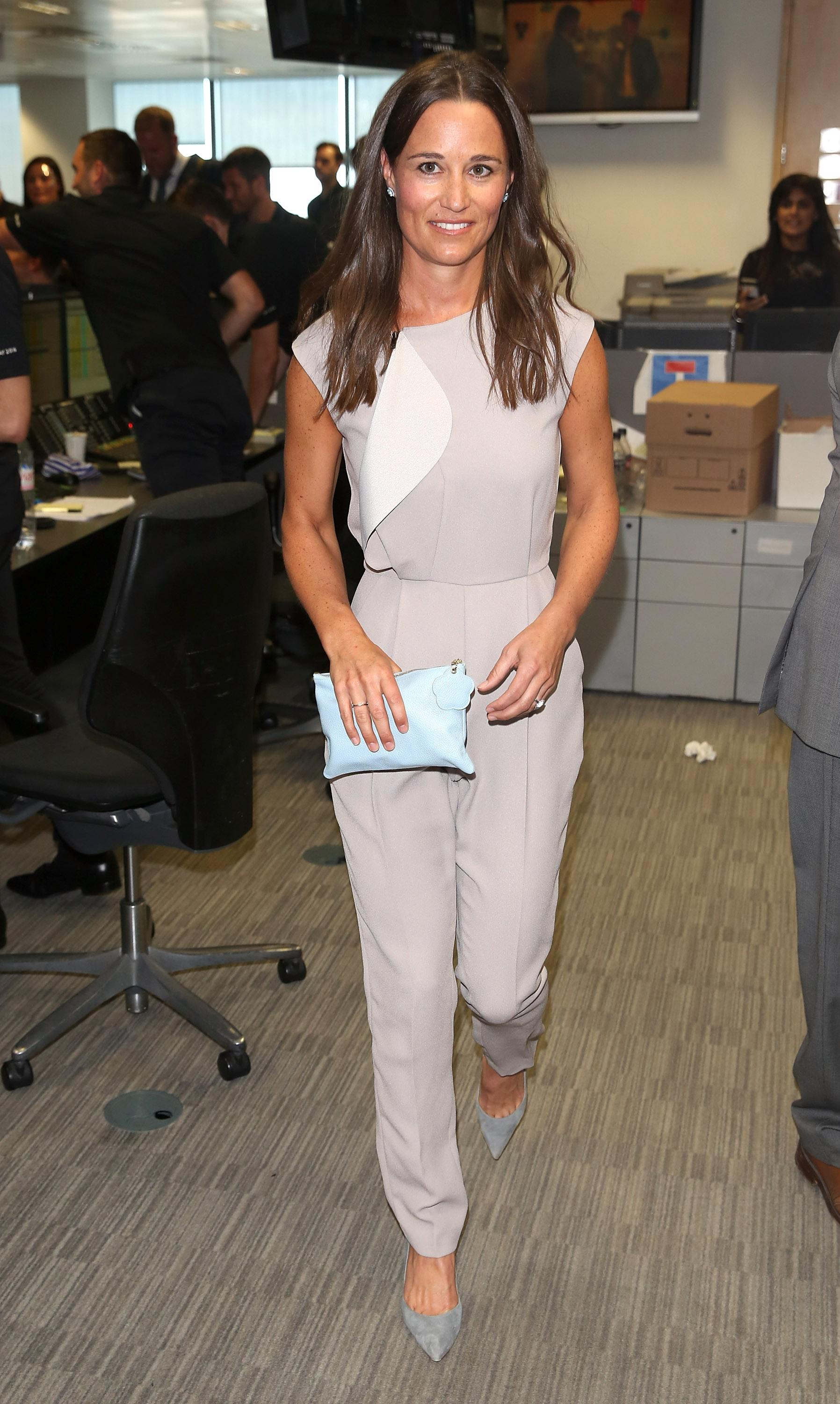 Pippa Middleton attends the BGC Annual Global Charity Day at Canary Wharf on September 12, 2016 in London, England.
