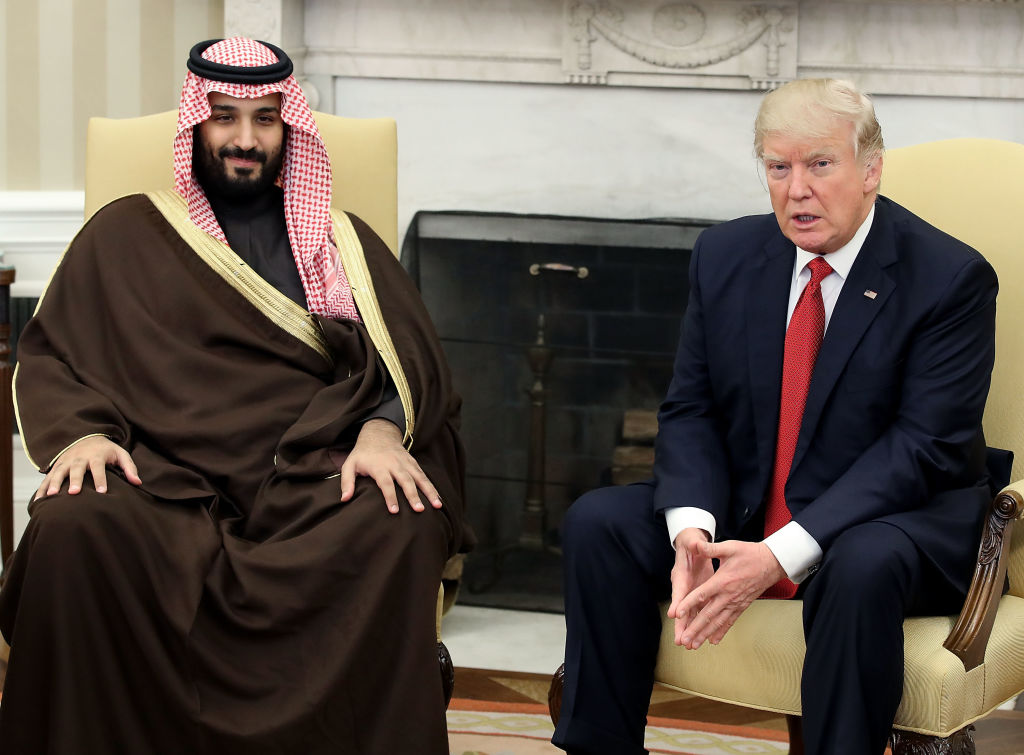 Trump and bin Salman