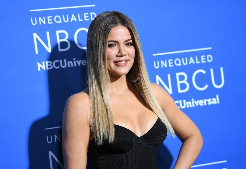 Khloe Kardashian attends the NBCUniversal 2017