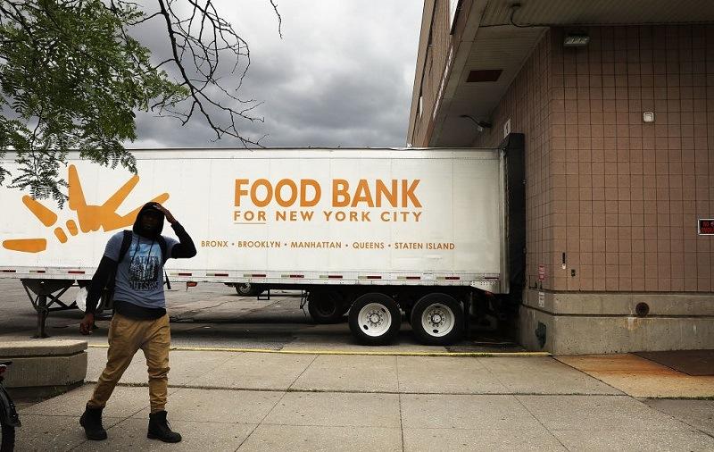 Food bank truck
