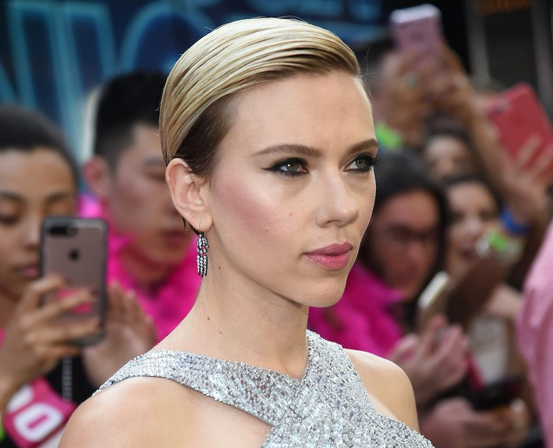 Actress Scarlett Johansson attends New York Premiere of Sony's ROUGH NIGHT