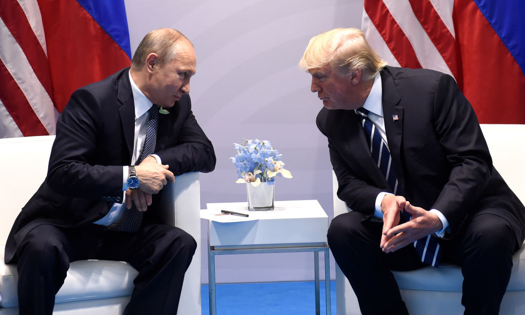 Putin and Trump at the G20 Summit