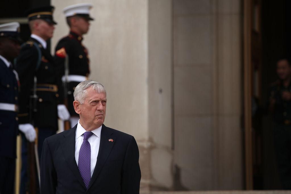 U.S. Secretary of Defense Jim Mattis