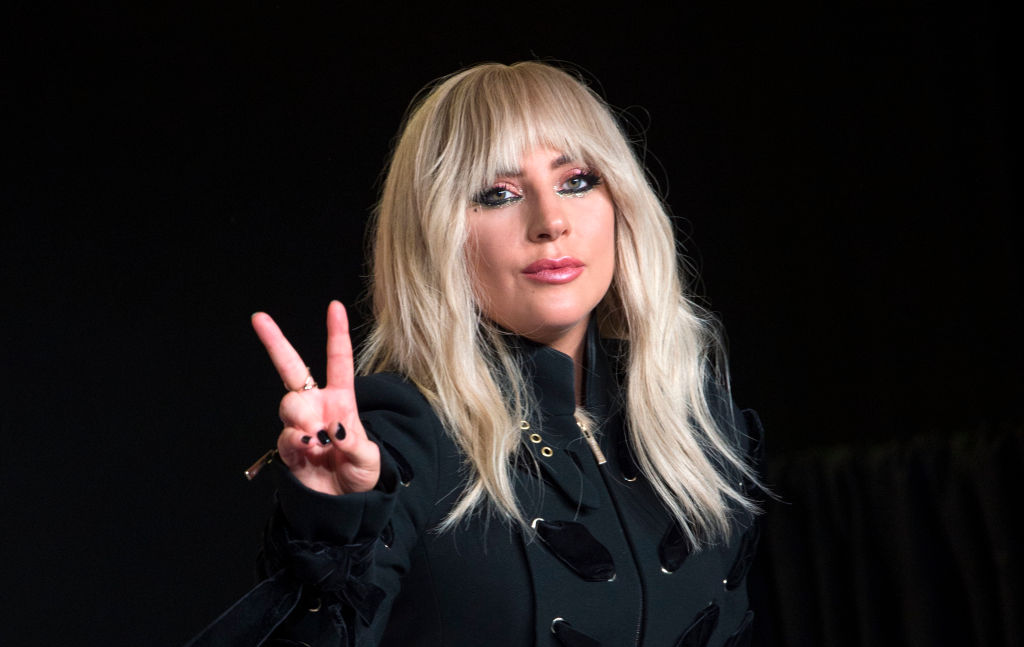 Lady Gaga at press event