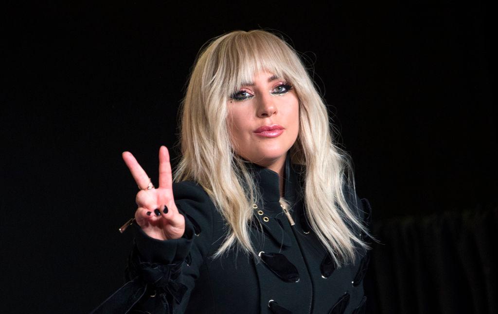 Lady Gaga at press event