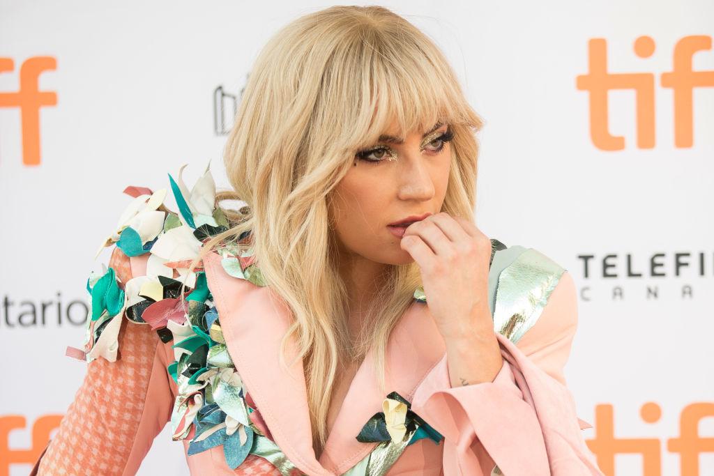 Lady Gaga at film premiere