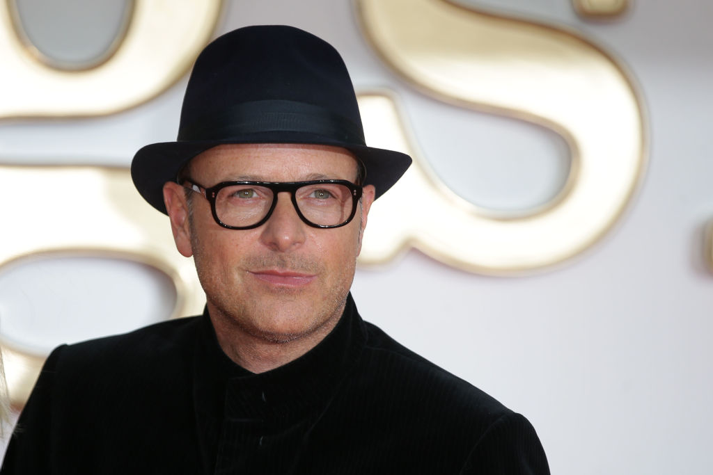 Matthew Vaughn poses upon arrival for the World premiere of Kingsman: The Golden Circle in London on September 18, 2017.
