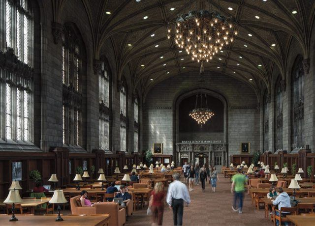 Harper Memorial Library at the University of Chicago