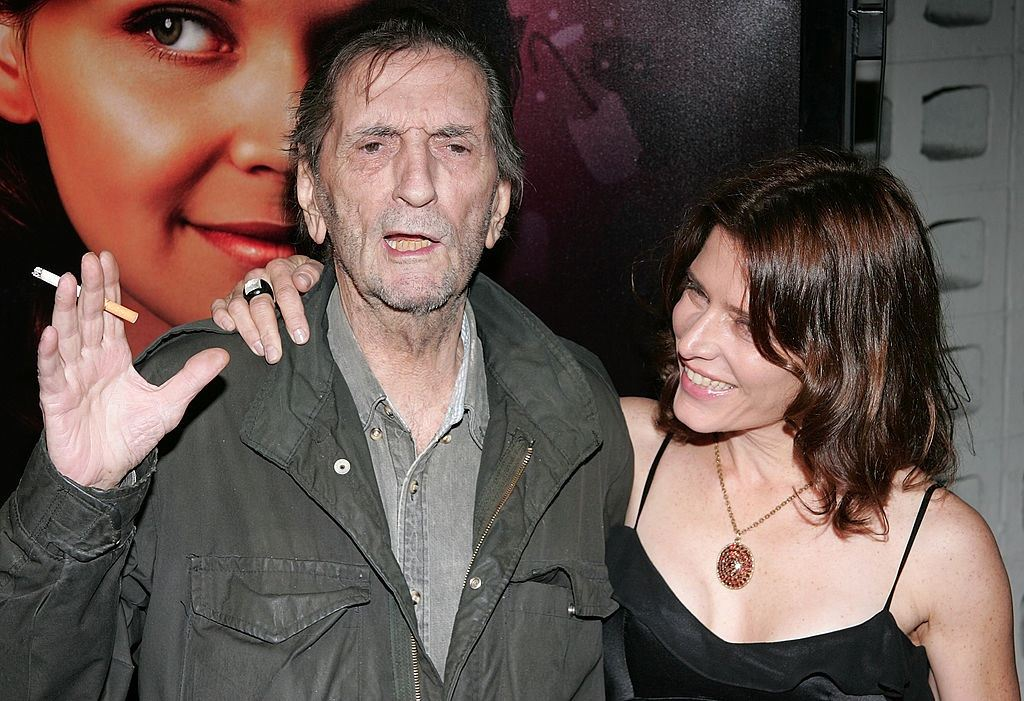 Actors Harry Dean Stanton and Melora Walters attend Big Love premiere.