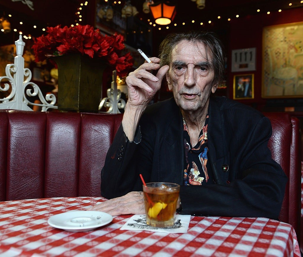 Harry Dean Stanton poses for a portrait.