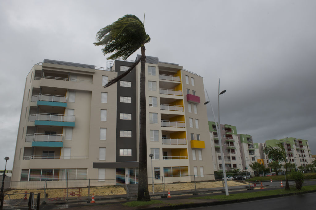 Pointe-a-Pitre hit with winds from Hurricane Irma