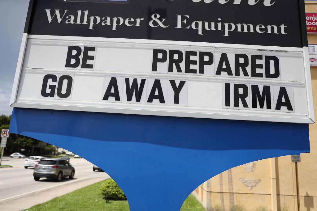 Florida residents await Irma