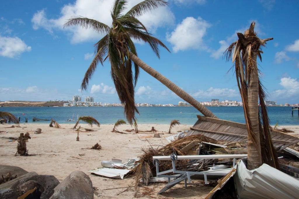 Hurricane Irma Hits Nettle Beach Bay
