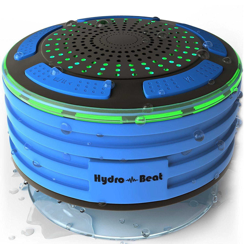 Hydro-Beat waterproof shower speaker   Amazon