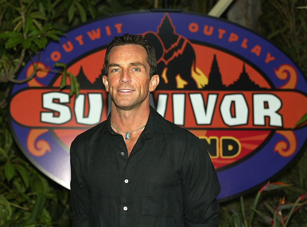 Jeff Probst from 'Survivor'
