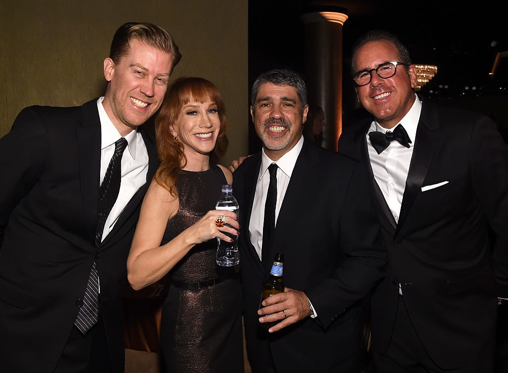 Kathy Griffin and her boyfriend Randy Bick