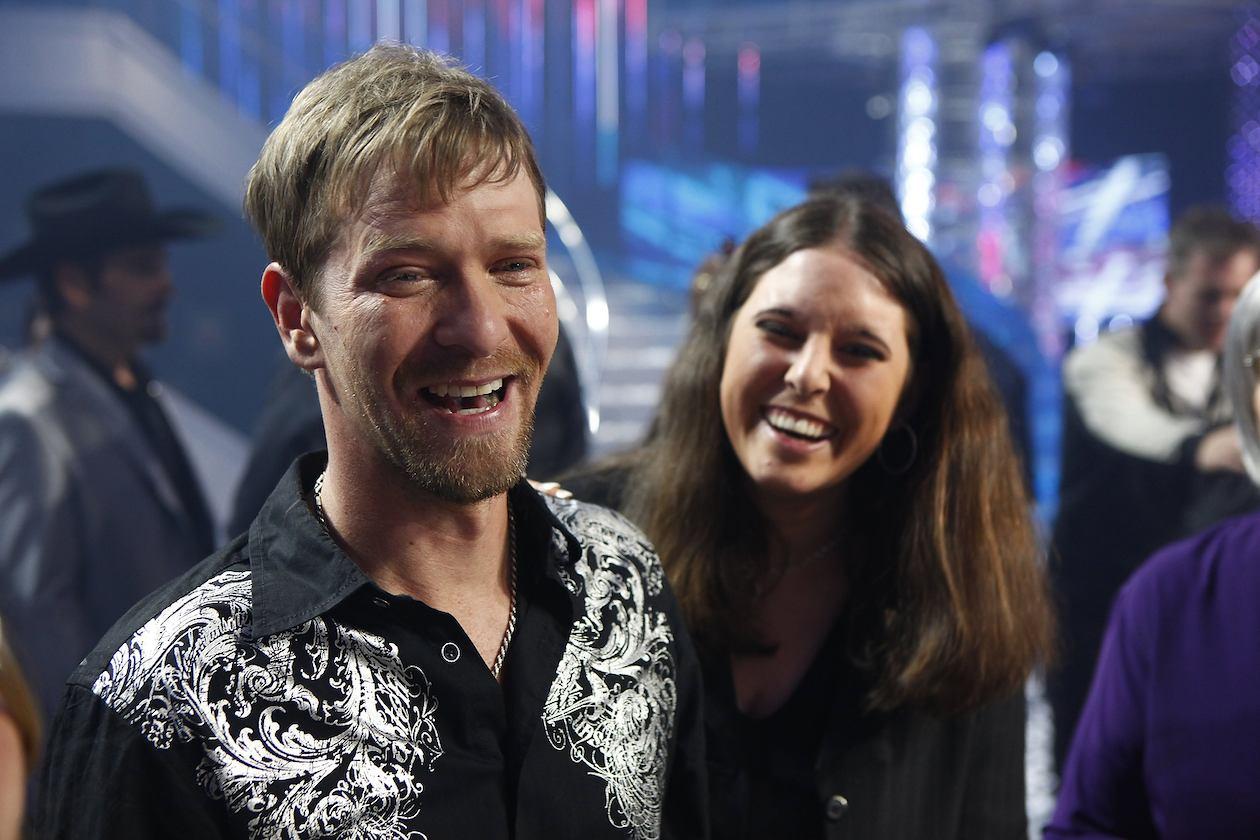Kevin Skinner smiles after winning America's Got Talent.   NBC.com