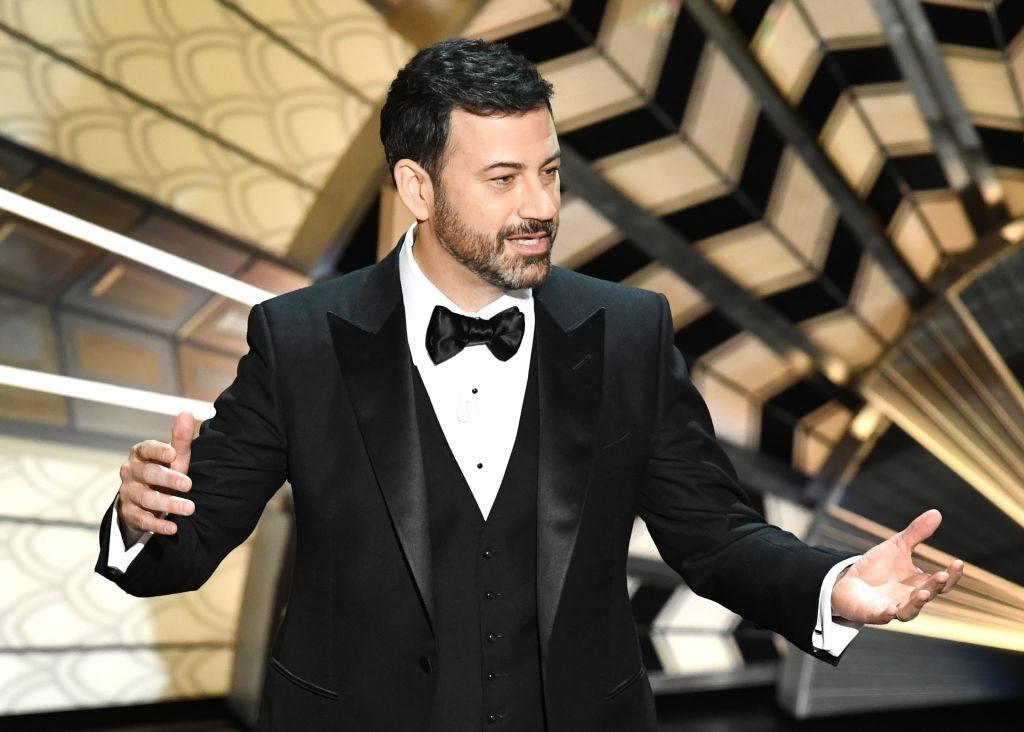 Host Jimmy Kimmel
