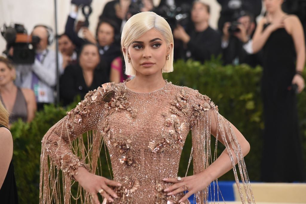 Kylie Jenner attends a gala at the Metropolitan Museum of Art