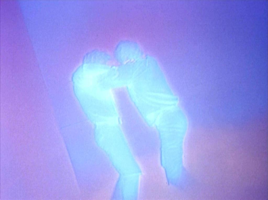 "Lazarus battles the alternative Lazarus in the Star Trek: The Original Series episode ""The Alternative Factor"""