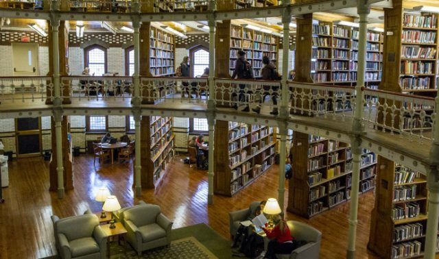 Linderman Library at Lehigh University