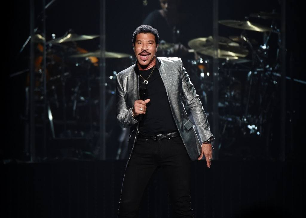 Lionel Richie performs at Madison Square Garden