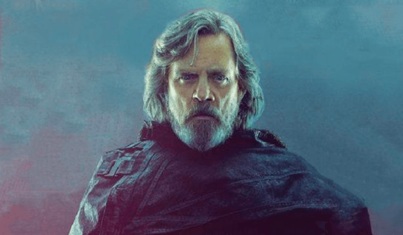 Luke Skywalker in Star Wars: The Last Jedi