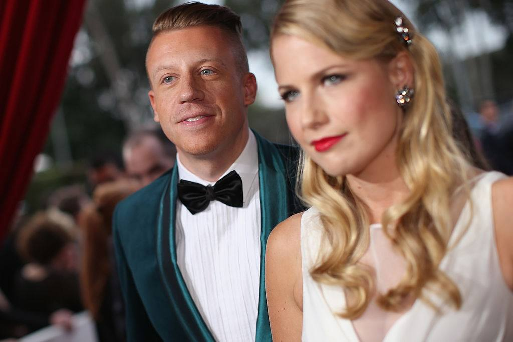 Rapper Macklemore and Tricia Davis