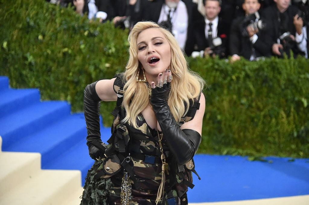 Madonna at a gala in New York City