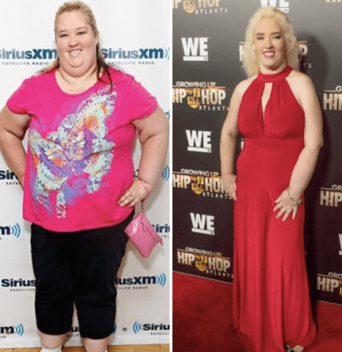 Weight of celebrity