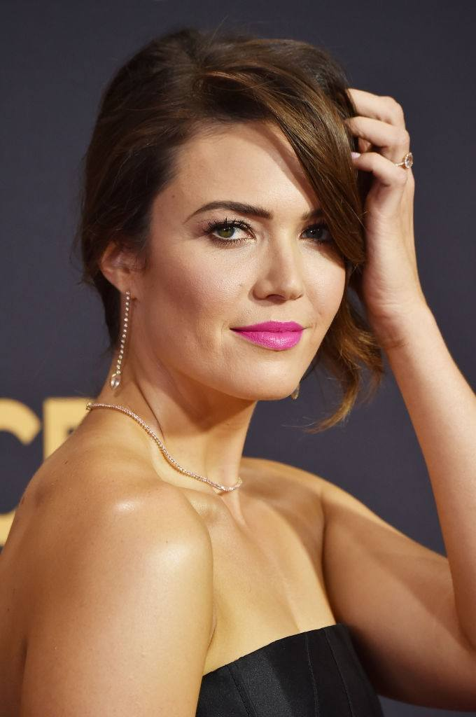 Mandy Moore at the Emmy Awards