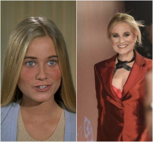 Marcia Brady from 'The Brady Brunch' and Maureen McCormick at a Macy's Charity Event.