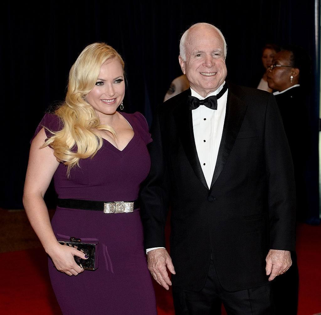 John and Meghan McCain at the White House Correspondents' Dinner